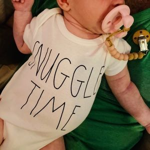 Rae Dunn SNUGGLE TIME suit